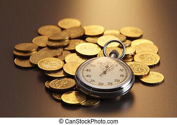 tempo, e, soldi