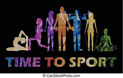 tempo, esportes