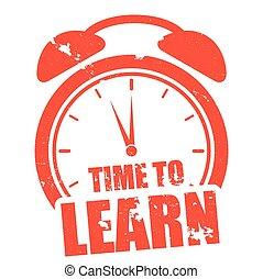 tempo, imparare