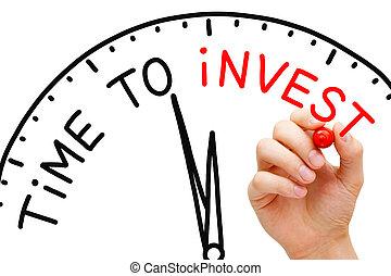 tempo, investire