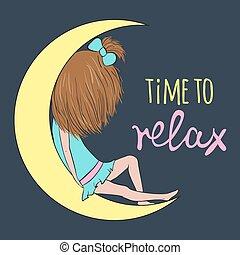 tempo, para, relaxe