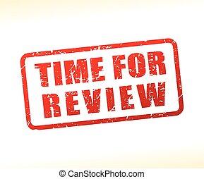 tempo, para, revisão, texto, buffered
