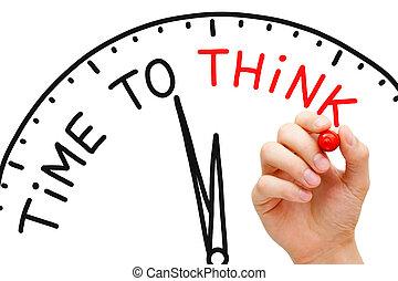 tempo, pensare