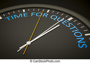tempo, per, domande