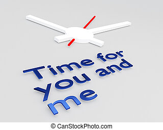 tempo, por si, e, mim, conceito