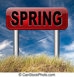 tempo, primavera