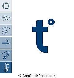 tempo, set, icone