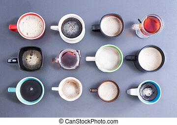 tempo, seu, cafeína, diariamente, dose