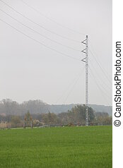 Temporary Power Line - Temporary power line for power supply...