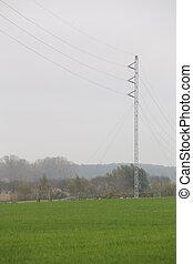 Temporary Power Line - Temporary power line for power supply...