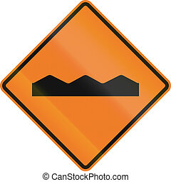Temporary Rough Road In Canada - Canadian temporary road...