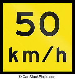 Temporary Speed Limit In Australia