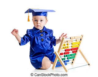 temprano, aprendizaje, bebé, concepción