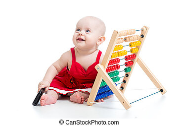 temprano, aprendizaje, bebé
