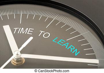 temps, apprendre