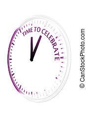 temps, célébrer