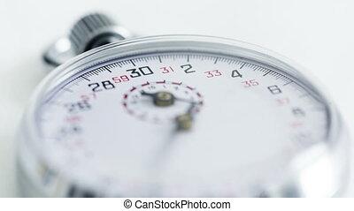 temps, chronomètre, défaillance