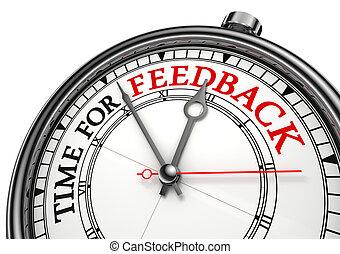 temps, concept, réaction, horloge