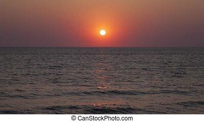 temps, coucher soleil, défaillance