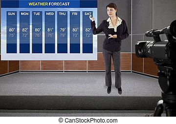 temps, forecaster
