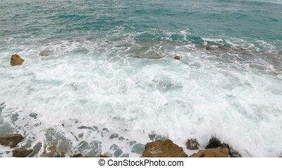 temps, italie, venteux, littoral