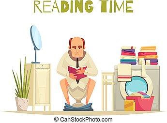temps lecture, fond