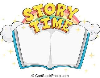 temps, lettrage, livre histoire