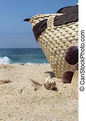 temps, plage