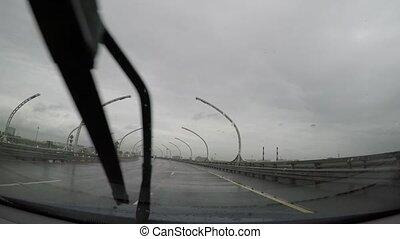 temps pluvieux, conduite