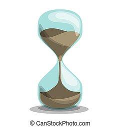 temps, vecteur, illustration., conception
