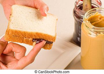 Tempting sandwich