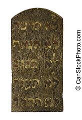 ten commandment - religion, ten, commandment, jew, god,...