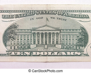 Ten Dollar Bill US Treasury 1 - Ten Dollar Bill US Treasury...