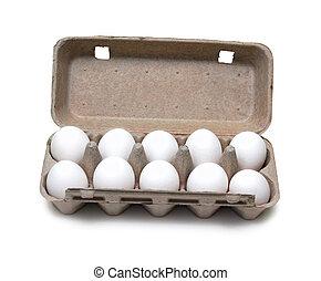 ten eggs in pack