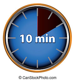 Ten minutes timer Ten minutes stopwatch timer 10 minutes alert