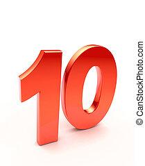 ten number