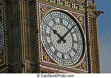 Ten past ten on Big Ben 2
