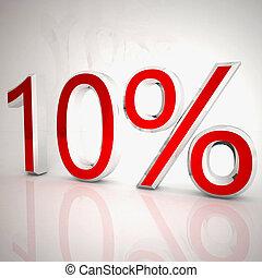 Ten per cent