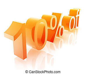 Ten percent discount