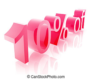 Ten percent discount - Ten Percent discount, retail sales...