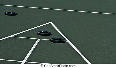 Ten Pointer - Slidding in a disc for a ten point score