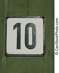 Ten - Plate