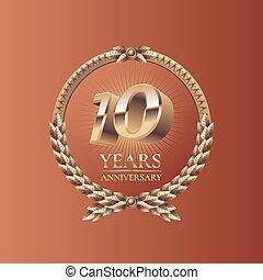 Ten years anniversary celebration d
