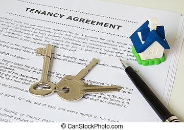 tenancy, overeenkomst