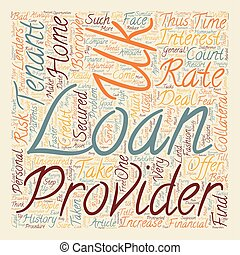 Tenant loans tenants only resort text background wordcloud concept