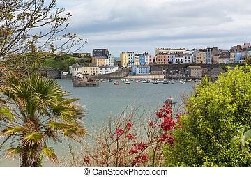 Tenby Pembrokeshire Wales