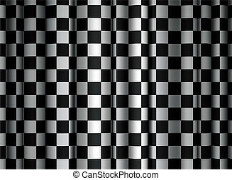 tenda, checkered