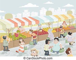 tenda mercado