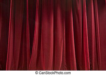 tenda, rosso