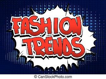 tendencias, moda
